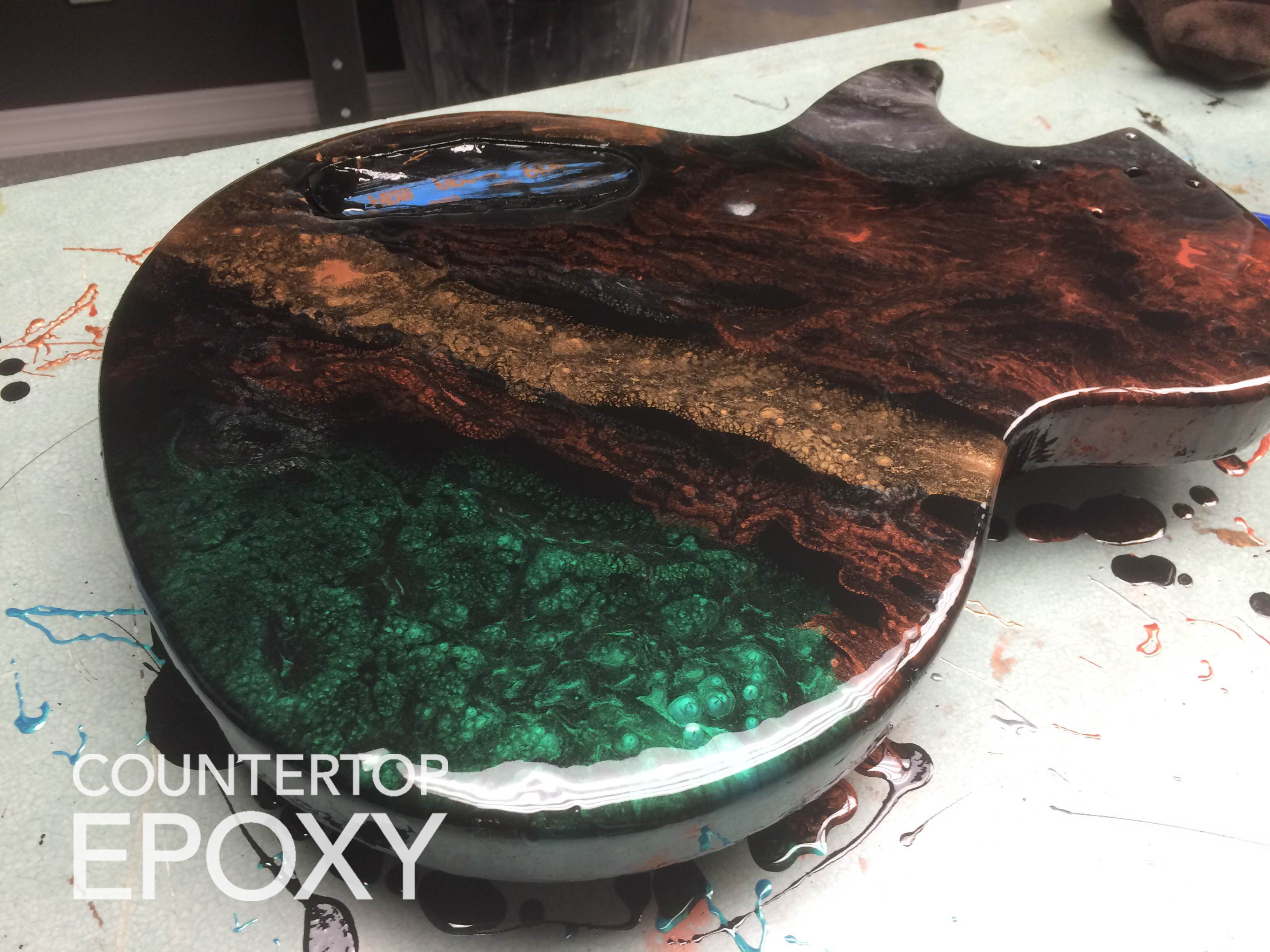 Endless Possibilities with Countertop Epoxy - Counter Top Epoxy