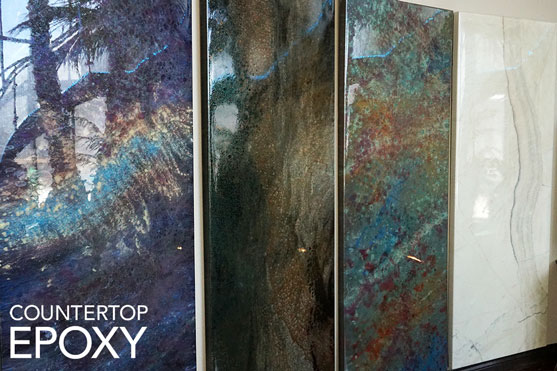 How To Design An Epoxy Countertop To Look Like A Stone