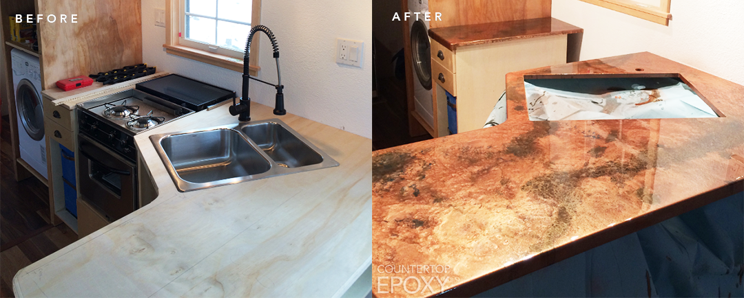 Epoxy Surface Preparation for the 5 Most Common Countertop